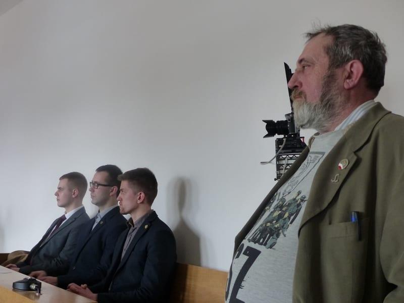 """Zygmunt Miernik, opozycjonista z Solidarności, wyproszony z sali za okrzyki """"Hańba!"""""""