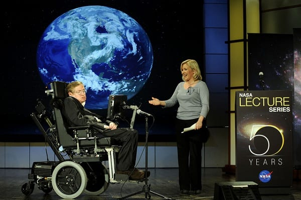 Dziennikarz o Stephenie Hawkingu: