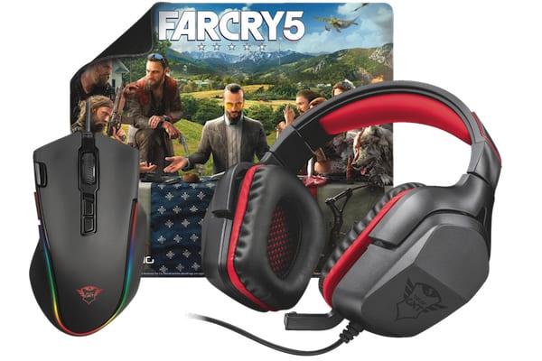 Zestawy dla graczy od Trust Gaming i Ubisoft z okazji premiery Far Cry 5