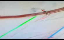 Jest nie do pokonania. Kamil Stoch bije rekord skoczni z... najniższej belki! [WIDEO]