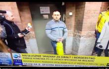 Reporterzy TVN czekali na Tomasza Komendę. Reakcja, gdy w drzwiach pojawił się inny mężczyzna była bezcenna! [WIDEO]