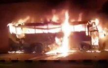 Na autostradzie spłonął autokar. Zginęło 20 osób!