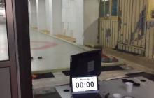 W takich warunkach odbywały się mistrzostwa Polski w curlingu.