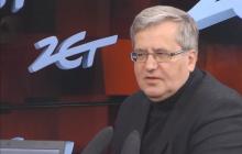 Bronisław Komorowski krytykuje pomysł PiS.