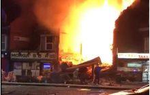 Leicester: Polski sklep wyleciał w powietrze, bo w piwnicy pędzili wódkę? Policja nie komentuje