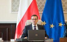 Morawiecki o likwidacji premii i ograniczeniu liczby stanowisk w rządzie.