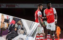 Piłkarz Arsenalu zarabia 30 tysięcy funtów tygodniowo. Jego matka mieszka... w kontenerze!
