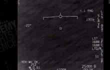 Amerykańscy piloci podczas rutynowego lotu dostrzegli niezidentyfikowany obiekt.