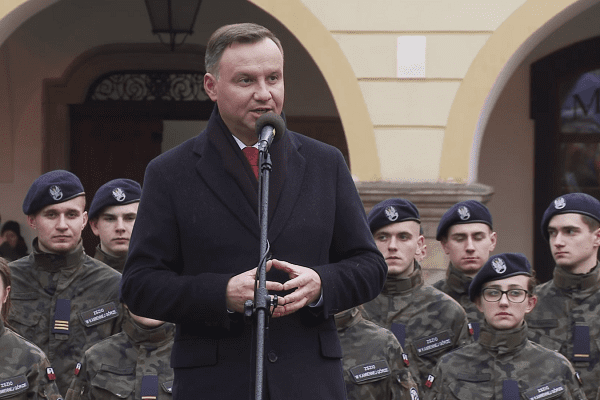 Andrzej Duda krytykuje materiał TVN24: