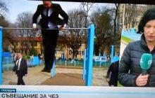 Imponujący pokaz sprawności fizycznej bułgarskiego prezydenta. Oto, co zrobił podczas transmisji na żywo [WIDEO]