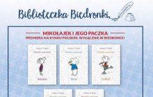 """""""Mikołajek i jego paczka"""" - premiera  pięciu książek serii wyłącznie w Biedronce!"""