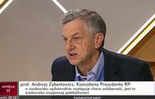 Ostra wymiana zdań prof. Zybertowicza z posłem Nowoczesnej.