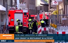 Policja podaje nowe informacje o tragedii w Muenster. Sprawcą był Niemiec