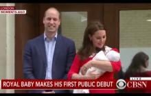 Świat zobaczył trzecie royal baby. Jest pierwsze zdjęcie Kate i Williama z synem! [WIDEO]