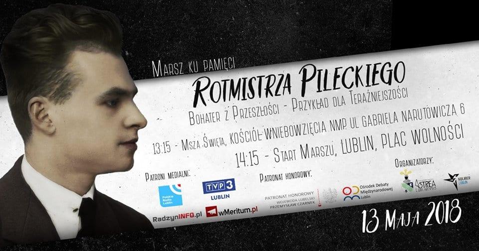 Marsz Rotmistrza Pileckiego przejdzie ulicami Lublina [WIDEO]