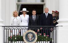 Brigitte Macron komentuje spotkanie z Melanią Trump.