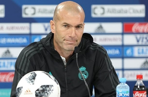 Zinedine Zidane oburzony komentarzami po meczu z Juventusem.