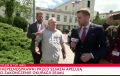 """Lech Wałęsa starł się z dziennikarzem TVP Info. """"Z głupcami mówi się głupio!""""[WIDEO]"""