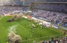 Zamieszki na stadionie Lecha Poznań to wina PiS? Reżyser nie ma wątpliwości