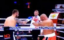 Oto fragment walki z udziałem Marcina Najmana. Internauci nie zostawili na pięściarzu suchej nitki.