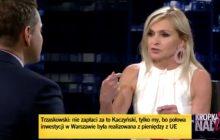 Nietypowa sytuacja podczas programu Moniki Olejnik. Dziennikarka zganiła Rafała Trzaskowskiego.