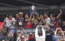 To się nazywa klasa! Piłkarze PSG pokonali w finale Pucharu Francji trzecioligowca. Zaprosili kapitana zespołu do podniesienia trofeum!