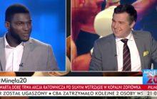 Zabawna sytuacja przed wywiadem z Izu Ugonohem w TVP. Pięściarz został zapytany, czy będzie rozmawiał po polsku [WIDEO]