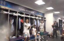 Real Madryt wygrał finał Ligi Mistrzów. Piłkarze świętowali w szatni [WIDEO]