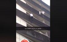 Wspiął się na czwarte piętro i uratował dziecko. Obywatel Mali został bohaterem we Francji [WIDEO]