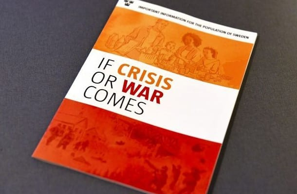 Szwecja rozdaje obywatelom instrukcję na wypadek wojny lub kataklizmu