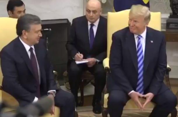 Andrzej Duda w USA nie spotkał się z Donaldem Trumpem. Prezydent USA zaprosił prezydenta Uzbekistanu