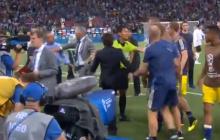 Emocje po meczu Niemcy – Szwecja. Przy ławkach obu ekip doszło do szarpaniny