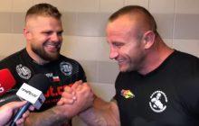 Bedorf i Pudzianowski - na ringu rywale, poza nim koledzy. Takie oblicze sportu kochamy.