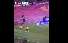 Mundial 2018: nietypowa sytuacja podczas meczu reprezentacji Belgii. Jeden z piłkarzy odepchnął swojego kolegę i... zabrał mu piłkę [WIDEO]