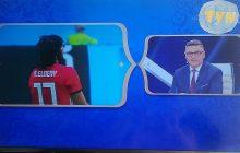 Internauta odpowiada na mundialową akcję zakrywania logo TVP. To zdjęcie podbija sieć!