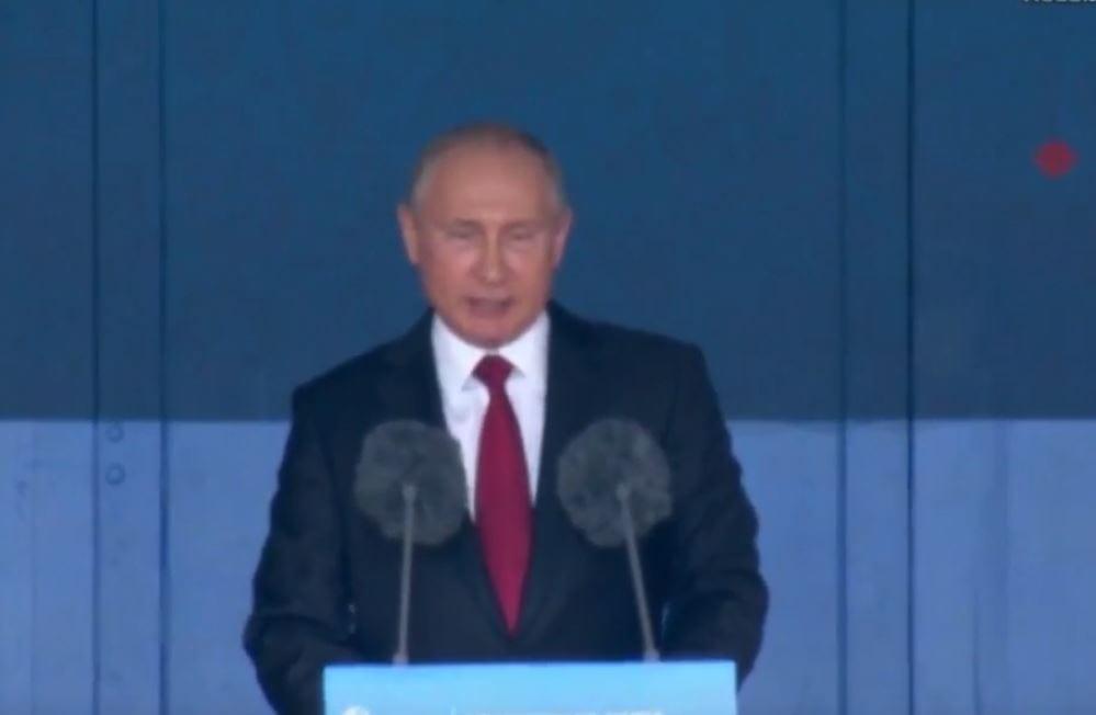 Władimir Putin przemawiał na ceremonii otwarcia mundialu. Internet zalała fala komentarzy! [WIDEO]