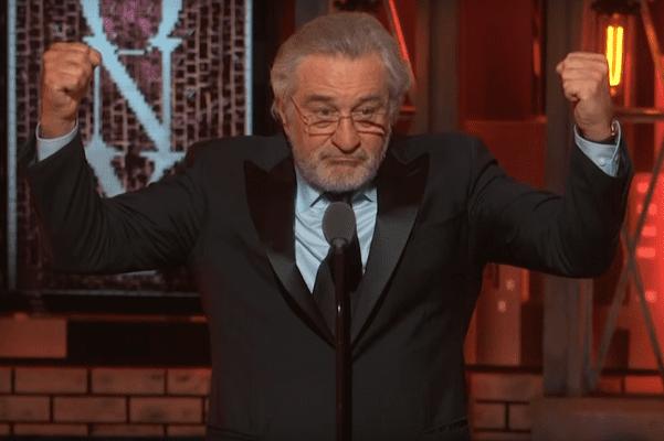 Zaskakujące zachowanie Roberta De Niro na rozdaniu nagród Tony. Aktor zwyzywał prezydenta USA