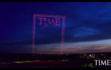 Okładka magazynu Time robi prawdziwą furorę. Utworzyły ją... drony! [WIDEO]