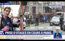 Uzbrojony napastnik wziął zakładników w Paryżu. Wśród nich kobieta w ciąży [WIDEO]