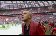 Dlaczego Robbie Williams pokazał środkowy palec na ceremonii otwarcia? Piosenkarz zabrał głos [WIDEO]