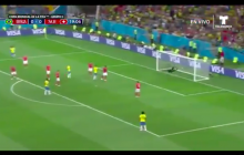 Brazylia sensacyjnie remisuje ze Szwajcarią. Padła najładniejsza bramka mundialu? [WIDEO]
