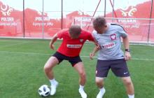 Tak wygląda trening Kamila Glika. Piłkarz w bojowym nastroju: