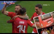 Szwajcarscy kibice jechali na mecz z Brazylią. Przez przypadek trafili na... front w Donbasie! [FOTO]