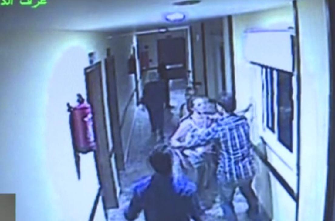 Reporter TVP Info dotarł do taśm monitoringu ze szpitala, w którym 27-letnia Magda wyskoczyła z okna. Dramatyczne nagranie [WIDEO]