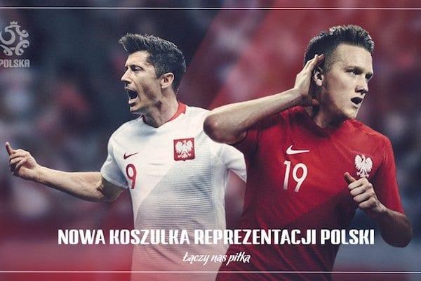 100da6808 W takich koszulkach reprezentacja Polski zagra na Mundialu. Ta kampania  kompromituje nasz kraj? [. Fot.: Twitter/Łączy nas piłka